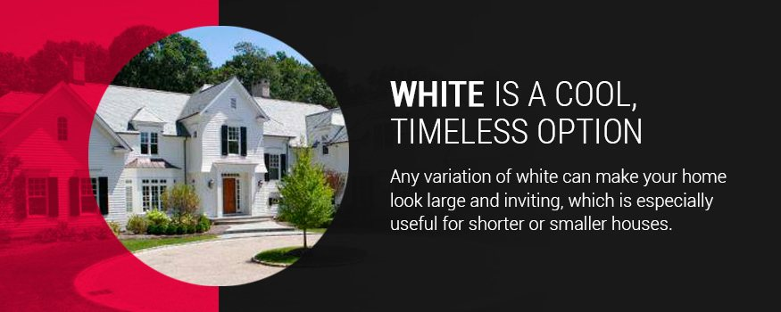 How Exterior Colour Affects Home Temperature